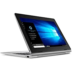 "Lenovo Idéapad D330 Ordinateur Portable Hybride 2-en-1 détachable 10,1"" Argent (Intel celeron, 4 Go de RAM,eMMC 64 Go, Windows 10) + OFFICE 365 inclu"