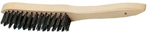 Promat 841014 Brosse métallique 4reihig l.290 mm d.0,35 mm fil en fonte PROMAT avec dos en bois