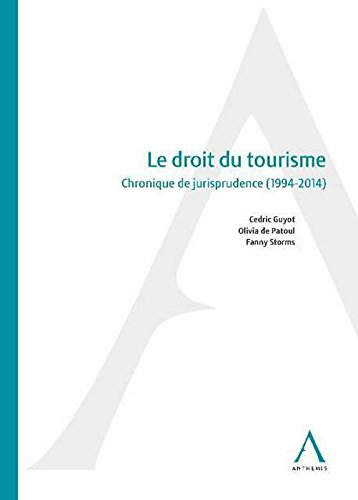 Le Droit du Tourisme par Guyot C.