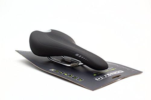 Preisvergleich Produktbild CONTEC MTB-/Rennsattel NEO Sport Z Active SB-verpackt, High-Density-Schaum, O-Zone Widerstandsfähige und leichte Kunststoff-Kernschale zur Abfederung der Kontaktzonen, O-Zone in der Sattelschale zur Reduktion der Druckbelastung auf Prostat