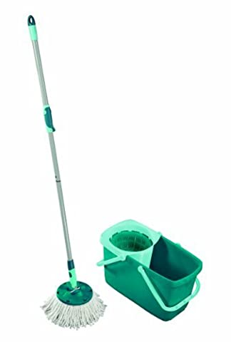 Leifheit Clean Twist Spin Mop System with Bucket and Round Mop Head by Leifheit