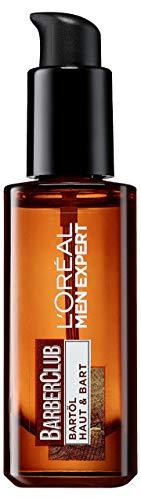 L\'Oréal Men Expert Barber Club Bartöl, Gesundes Bartwachstum, gepflegter und gebändiger Bartstil ohne Juckreiz, mit Zedernholzöl (30ml)