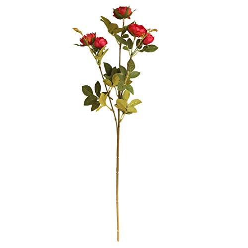 Happy event Fleurs Artificielles Pivoine pour Mariage Fête de Mariée rose bonbon