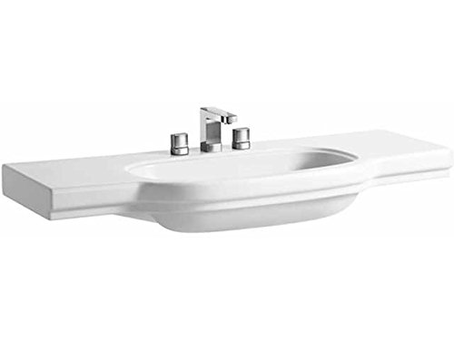 Laufen Waschtisch unterbaufähig LB3 CLASSIC ungeschnitten 1250x520 LCC weiß, 8106884001041