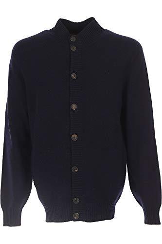 Brunello Cucinelli Cardigan Uomo M2272386cg360 Cashmere Blu