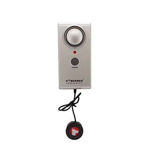 Alarma de nivel de agua Doberman , WER detector de agua alarma 100dB (se usa en baños, calentadores de agua, cuarto de lavado y etc.) - 1pcs