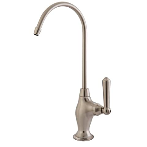 Kingston Brass KS3198NML Magellan Design 1/4 Turn Water Filter Faucet, Satin Nickel by Kingston Brass