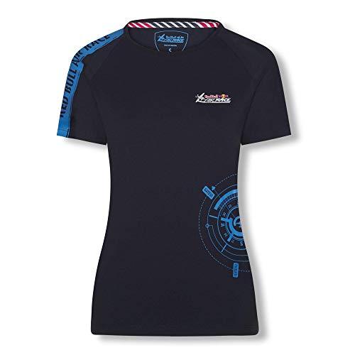 Red Bull Air Race Compass T-Shirt, Blau Damen Small T-Shirt, Air Race Original Bekleidung & Merchandise -