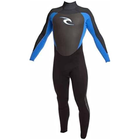 Rip Curl Dawn Patrol JUNIOR/Toddler 3/2mm Wetsuit in Black/Blue/White WSMODO Age / Size - 4 Years