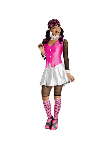 Schickes Draculaura Monster High -Kostüm für Damen (Deluxe Draculaura Kostüme)