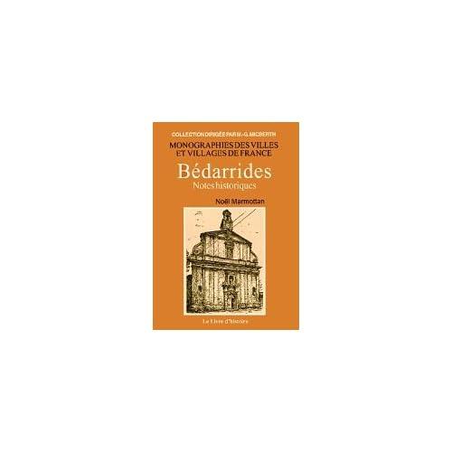 Bédarrides : Notes historiques