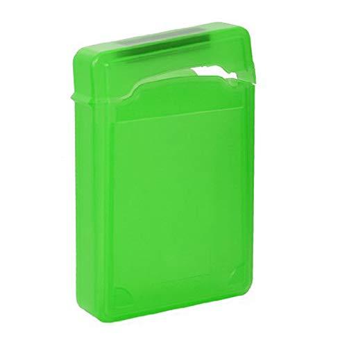 ojofischer HDD Anti-Static Storage Box 3.5 Zoll IDE SATA HDD Storage Protection Box HDD Organizer Grün 100% nagelneu und Prämie (Premium Storage Box-grün)
