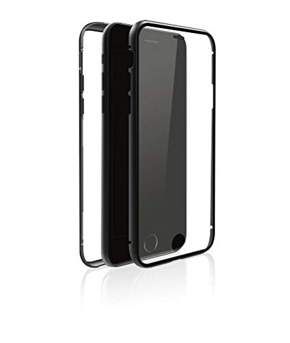 Black Rock 360° Glass Case Black kompatibel mit Apple iPhone 8/7 [1025TGC02]