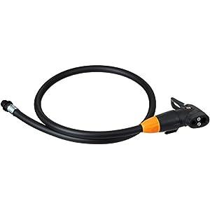 SKS Pumpenkopf mit Schlauch Multi Valve-Kopf für Airkompressor Pumpenschlauch, schwarz, 80 x 2 x 2 cm