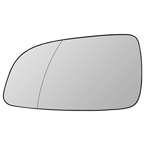 2x Rétroviseur Cap Mirror Gauche Droit Noir pour Opel Astra H