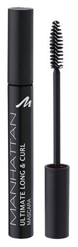 Manhattan Ultimate Long & Curl Mascara, black