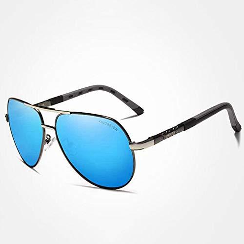 DZBMY Sonnenbrillen Männer Vintage Aluminium Polarisierte Sonnenbrille Klassische Marke Sonnenbrille Beschichtung Objektiv Driving Shades Für Männer/Wome