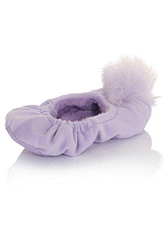 Lora Dora , Damen Hausschuhe Violett violett