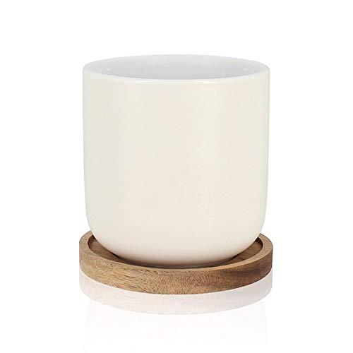 OGO LIVING ENZO Tasse, Holz, Weiß, 25 cl