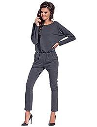 Amazon.it  salopette donna - Monopezzi e tutine   Donna  Abbigliamento 840bf1878125
