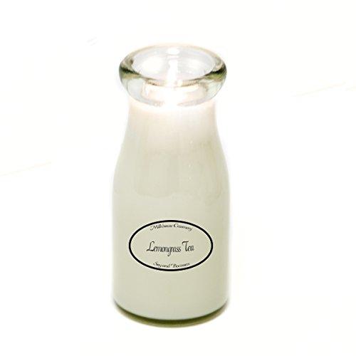 Soja, Bienenwachs (Milkhouse Creamery Soja und Bienenwachs Duftkerze Lemongrass Tee (8 ml Milchflasche) USA)