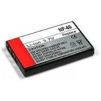 batterie pour Fuji NP-60, Li-Ion, Casio: NP-30 / Kodak: Klic-5000
