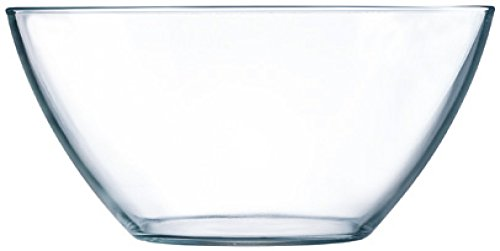 Luminarc H5360 6 coupelles 17 cm-Cosmos, Verre, Transparent, 17 x 17 x 7,3 cm