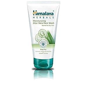 31woSAg5upL. SS300  - Himalaya-Herbals-Limpiador-Facial-Hidratante-al-Aloe-Vera-175-gr-1-unidad