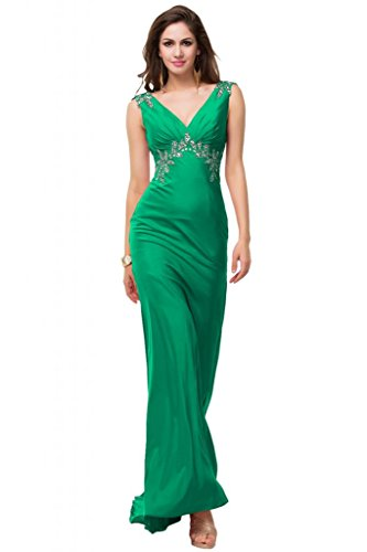 Sunvary Fodero per decorazioni con vestiti da sera elegante Pageant Gowns Verdone