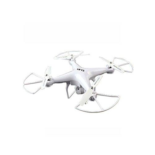 ASHOP D68W 2.4G Höhe Halten HD Kamera RC Quadcopter Drohne WiFi FPV Live Hubschrauber Schwebeflug, Headless Modus, Lichtsteuerung, Luft Gyro, WiFi Kamera Aufnahme / Fotografieren,Weiß