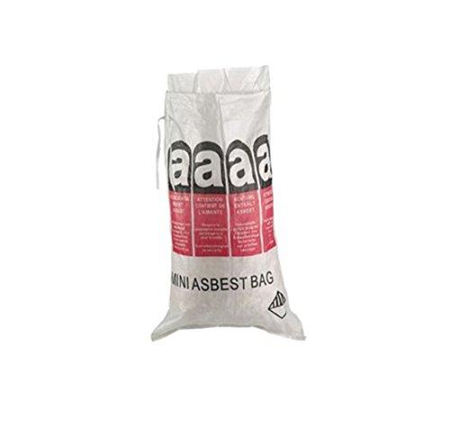 (1,69EUR/Stück) 10 Gewebesäcke 700x1100mm Asbest Big Bag Entsorgungssack
