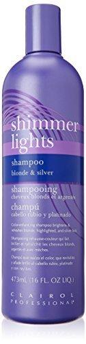 Clairol Silver Shampoo (Clairol Professional Shimmer Lights Shampoo blonde & silver,16 fl.oz by Clairol)