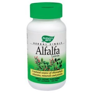 Nature's Way Organic Alfalfa Leaves (100 Capsules) by Nature's Way