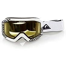 Quiksilver Fenom Badw Gafas de Snowboard, Hombre, Blanco (Snow), Talla Única