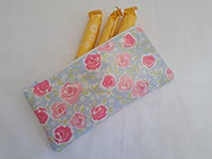 Handmade Oilcloth Tampon Case Holder - Summersdale Fabric