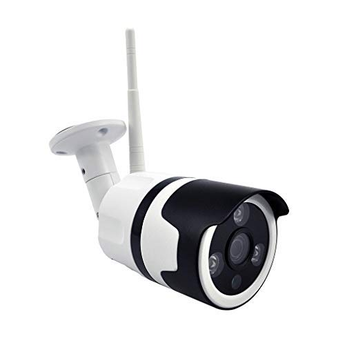 CarJTY Outdoor/Indoor-Überwachung Home IP-Sicherheit IR-Nachtsicht-Bewegungskamera Outdoor-Überwachungskamera 720P Wireless IP Surveillance Bullet Camera, IP66 wetterfest, Unterstützung Onvif & RTSP High-res Night Vision