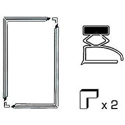 Kit 2 Joints A Semelle L 1300 X 700 Mm Pour Refrigerateur Divers Marques