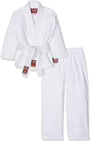 Ju-Sports Kinder Judoanzug To Start Anzug, Weiß, 120 cm