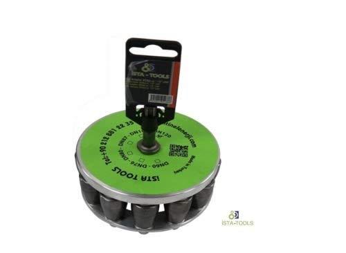 Koffer Auspuffrohr Rohraufweiter KFZ Erweiterung TailPipe Expander Rohrspreizer Set /ø 30-85 mm inkl 3 tlg