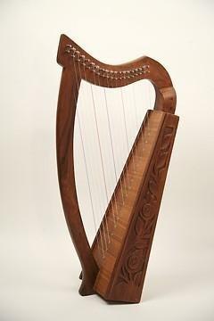 EMS-Harpe-Celtique-Genou-19-Cordes-Palissandre