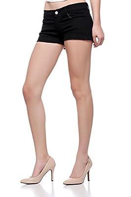 Fasnoya Women's Black Shorts