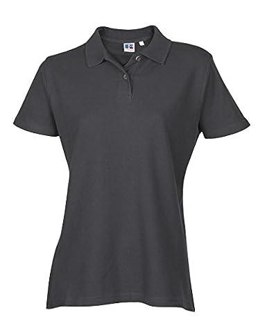 Ladies Womens Polo Tshirt Top Shirt Plain Sports Casual Short Sleeve New Cotton