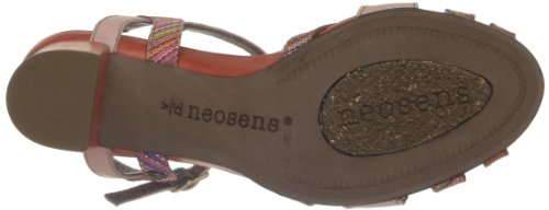 Neosens Moll 484, Sandales femme Rouge (Coral)