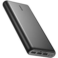 Anker PowerCore 26800 mAh Batterie Externe Haute Capacité avec Double Port Input et 3 Ports USB - Powerbank 26800 mAh pour iPhone, iPad, Samsung Galaxy, Android and Autres