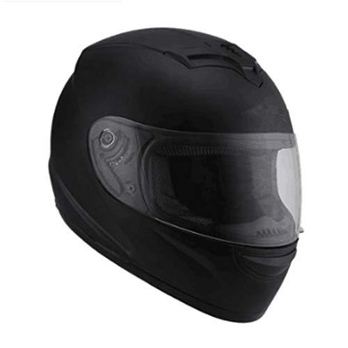 OLEEKA Casco moto integrale casco da moto Moto equitazione ABS Materiale Motocross Caschi DOT MOTO Certificazione