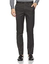 Arrow Newyork Men's Pleat-Front Formal Trousers