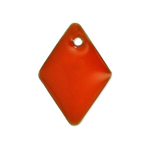 rombi-in-smalto-epossidico-15-mm-rosso-corallo-x8