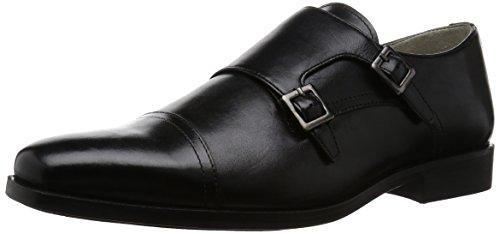 Clarks Amieson Monk Herren Pantoletten Schwarz (Black Leather)
