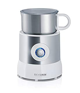 SEVERIN SM 9684 Milchaufschäumer (Erwärmen (Bis zu 500 ml) Aufschäumen (Bis zu 260 ml) Induktion) silber /weiß (B0043WC0W2) | Amazon price tracker / tracking, Amazon price history charts, Amazon price watches, Amazon price drop alerts