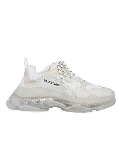 Balenciaga Hombre 541624W09e19000 Blanco Poliéster Zapatillas